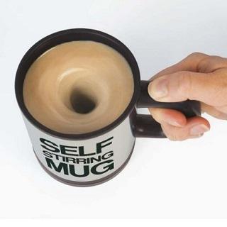 Cadeau - Mug avec melangeur